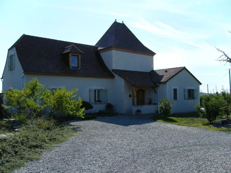 Contemporary Quercy style house