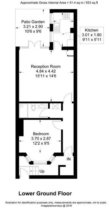 Floor plans for Lewes Road, Brighton property for sale in Lewes Road South, Brighton by Coapt